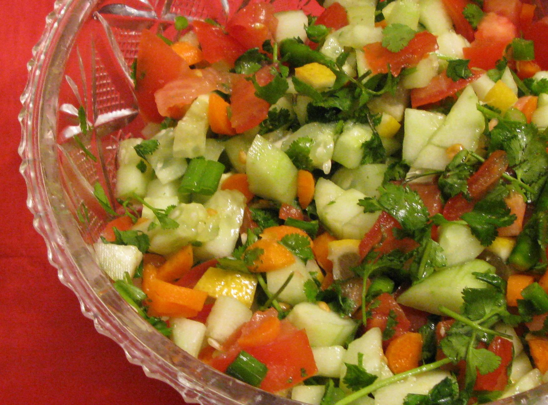 Mixed salad bangla style deshigrub this forumfinder Images