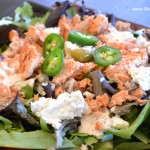 Salmon & Goat Cheese Salad